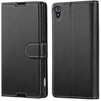 70d240e508266 Mulbess Business Style Ledertasche im Ständer Book Case   Kartenfach für  Sony Xperia Z2 Tasche Hülle Leder Etui