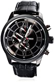 Style Feathers Analogue Black Dial Men'S...