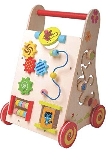 Lauflernhilfe Laufwagen Lauflernwagen Gehhilfe Holz Baby Kinder 2116 Laufwagen Für Kinder