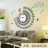 Y-Hui Paredes de Hierro Casa Habitación Suministros Decoraciones para Colgar en Pared Decorado Salón Dormitorio Colgando de la Pared Azul Grande (65 * 65cm)