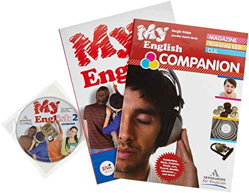 My English. Student's book-Workbook-Companion. Con espansione online. Con CD Audio. Per le Scuole superiori: 2