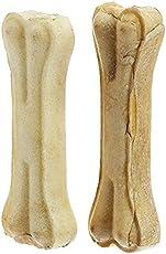 Choostix Pressed Dog Bone, Medium (6-inch x 2 Pieces)