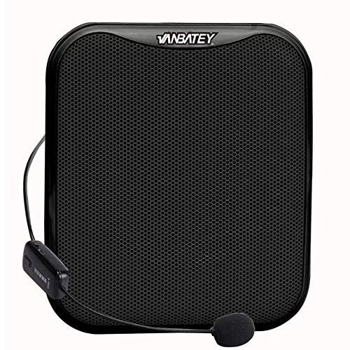 Vanbatey el sistema amplificador de voz portátil de Altavoz ruidoso auriculares con...