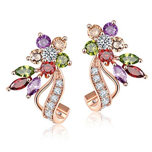carsinel-designer-oxyde-statement-oreilles-fini-or-rose-pour-fille-et-femme