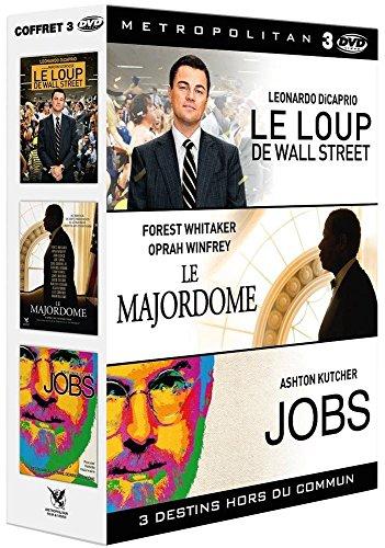 3 destins hors du commun : Le Majordome + Le Loup de Wall Street + Jobs