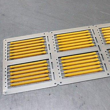 HZZymj-5 piezas ONDENN E14 4W 4 COB 400 lm Blanco Cálido C35 edison Cosecha Bombillas de Filamento LED AC 100-240 V , 220-240v