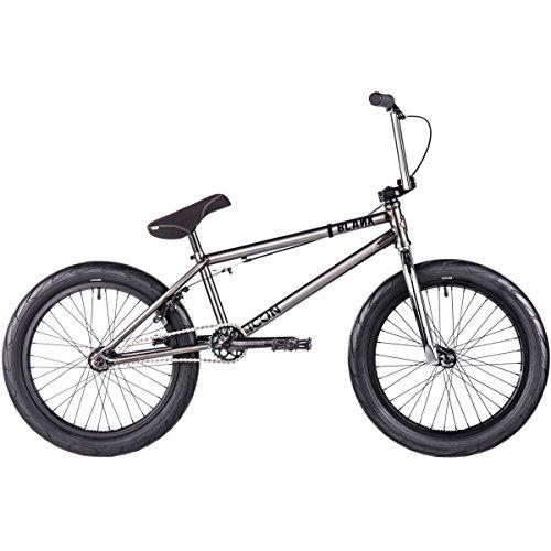 Blanko Icon BMX Bike 201720.85in Top Tube 20in Rad Trans schwarz
