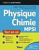 Physique-Chimie MPSI - Tout-en-un