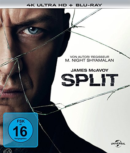 Split (4K Ultra HD) (+ Blu-ray)