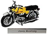 Jawa Mustang Gelb DDR Atlas Collection 1/24 Modellcarsonline Modell Motorrad