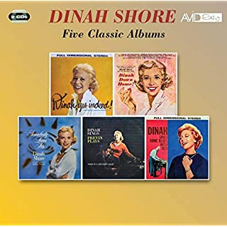 Five Classic Albums (Yes Indeed! / Dinah, Down Home / Somebody Loves Me / Dinah Sings, Previn Plays / Dinah Sings Some Blues With Red)