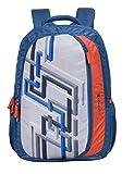Sonnet Treck-Bs 37 Liter Navy Blue College Bag Casual Backpack