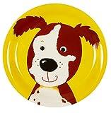 Kleiner Melamin-Teller Hund Freche Rasselbande