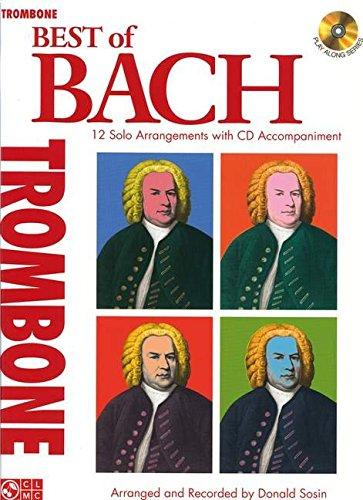 J.S. Bach: Best Of - Trombone: Noten, CD für Posaune