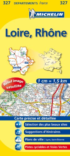 LOIRE / RHONE 11327 CARTE ' LOCAL ' ( France ) MICHELIN KAART (KAARTEN/CARTES MICHELIN)