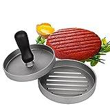 Burgerpresse Patty Maker aus Aluguss mit Antihaftbeschichtung für Hamburger, Gemüse , Buletten oder Frikadellen, Grill