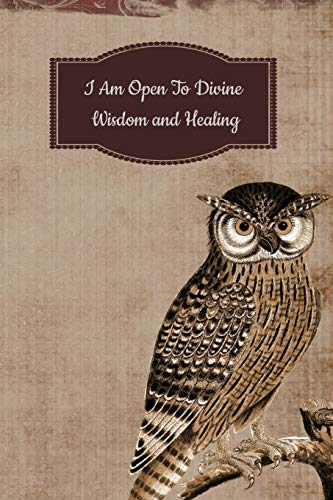 I Am Open To Divine Wisdom and Healing: A 6 x 9 Inch Matte Softcover Paperback Notebook Journal With 120 Blank Lined Pages - Ada Deck