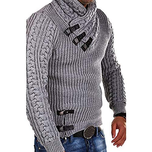 TWBB Herren Sweater Mantel Winter Warm Pullover Outwear Jacken Herrenmantel Wintermantel Sweatshirts