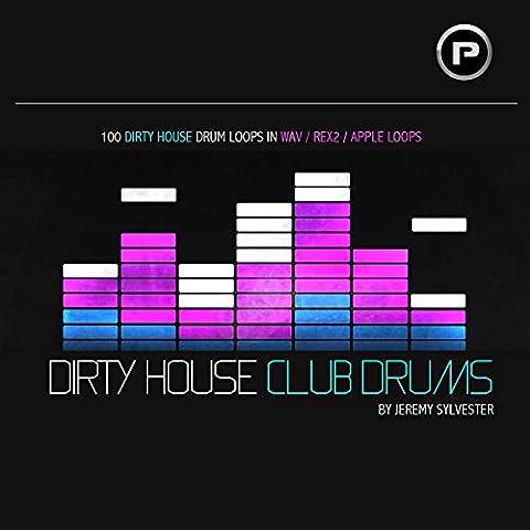 Dirty House Club Drums DIRTY HOUSE CLUB DRUMS ist genau das, was auf der Verpackung steht. 100 knallender dirty House Rythmen für alle EDM Stile, wie Tech House, Progressive, Deep, Big Room.