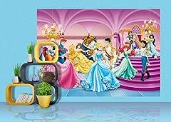 Idea Regalo - Disney Principesse - Decorazione Murale 255x180cm