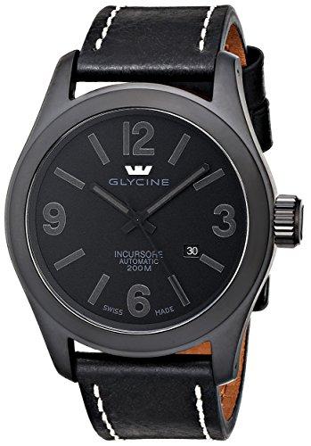 Glycine orologio da uomo 3874–999-lb9b Incursore