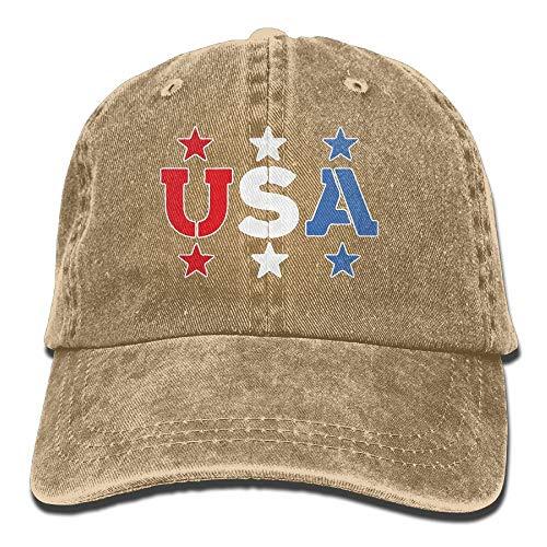 UUOnly Baseballjeansmütze 4. Juli Unabhängigkeitstag-1 Männer Baseballmütze Einstellbare Baseballmütze
