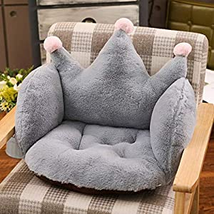 NXSP Plush toys, office shake, INS cushion, creative pillow, stuffed toy, Grey crown, Rabbit Plush 55 * 40 * 40 (0.8kg)