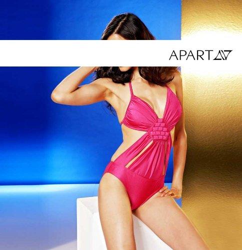APART Fashion -  Tankini  - Opaco - Donna Ciclamino