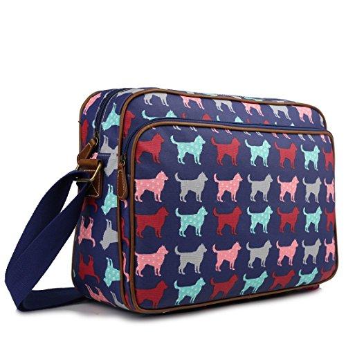 miss-lulu-matte-finish-oilcloth-cat-dog-galaxy-universe-satchel-messenger-bag-dog-navy