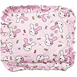GoodStart Square Shape Soft Cotton Newborn Baby Head Shaping Pillow With Mustard Seeds/baby Rai Pillow/Rai Seed Pouch & Baby Neck Support Pillow In Animal & Cartoon Print, With Detachable Seeds Bag For 0-1 Years In Light Purple Color