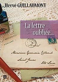 Lettre oubliée par Guillaumont Hervé