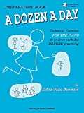 A Dozen a Day: Preparatory Book