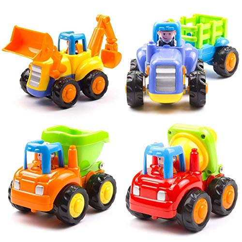 Cartup Unbreakable Automobile Car Toy Set ( 4 Toys )