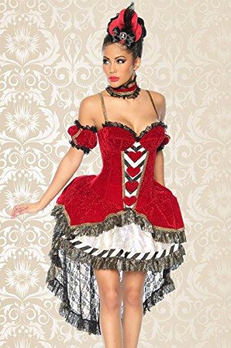 Alice-im-Wunderland-Kostüm, Größe:S (Alice Kostüm)