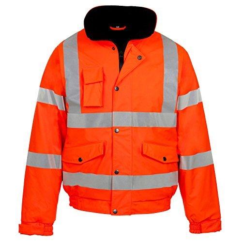 Fast Fashion - Manteau De Sécurité Vêtements De Travail Veste Imperméable  Tempête Rainsuit Hi Viz - bc74c5e280c