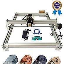 TOPQSC Bachin Máquina de Tallado Kit de Bricolaje,Grabador Láser de Escritorio 12V USB Carver