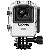 Original SJCAM M20 16MP Sony IMX206 Sensor Mini Action Helmet 2.5K 2160P Wifi Waterproof Action Camera Sport DV Riding Recorder (Black)