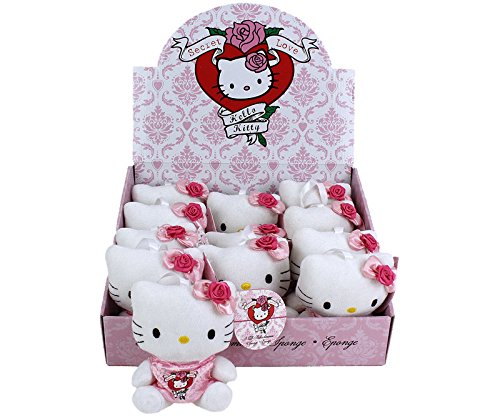 Hello Kitty Secret Love Sponge-Kleid auf dem Display (Kitty Geburtstag Kleid Hello)