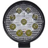 Kalttoy - Luz LED de trabajo redonda de 27 W de 4 pulgadas para camión,