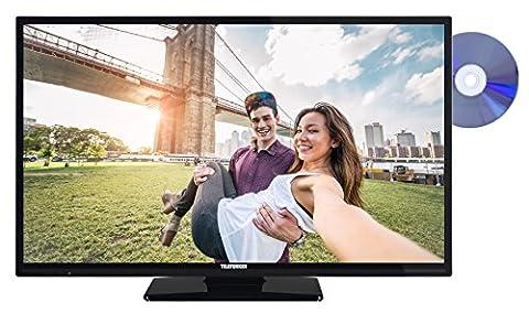 Telefunken XH32A201D 81 cm (32 Zoll) Fernseher (HD Ready, Triple-Tuner, Smart TV, DVD-Player) schwarz