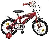 Kinderfahrrad Speed TX rot 14 Zoll mit Stützräder