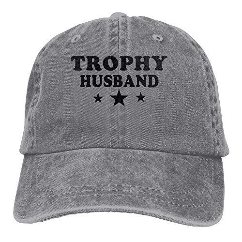 Jxrodekz Trophy Husband Cowboy Hat Rear Cap Adjustable Cap EE516