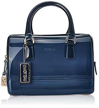 Sac polochon bleu Furla Candy Bag