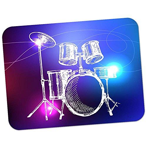 Fancy A Snuggle Lineart 5-teiliges Schlagzeug mit Becken Hochwertiges Dickes Gummi-Mauspad mit weicher Komfort-Oberfläche