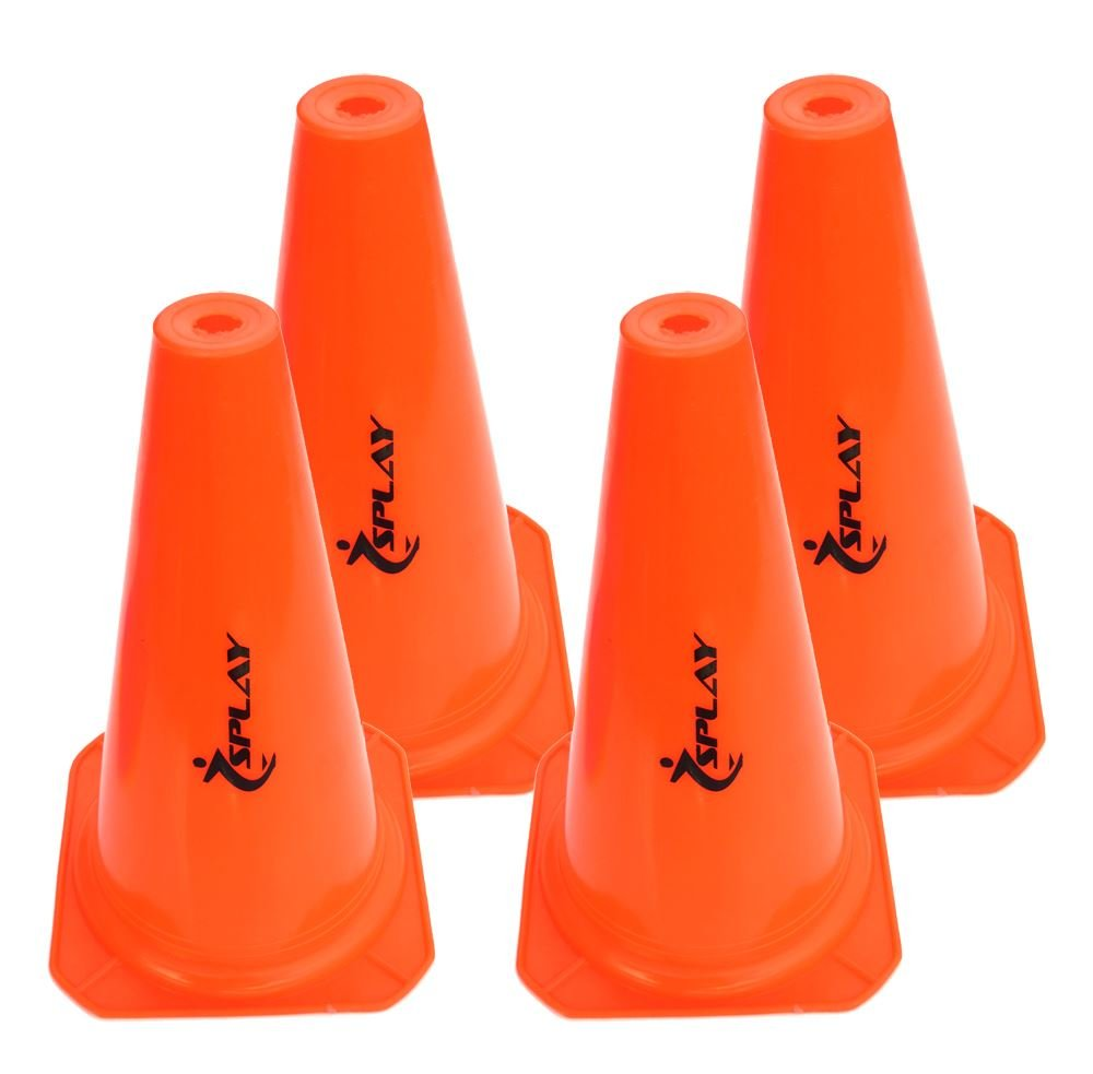 Entrenamiento tráfico cono–15inch (naranja) X 4