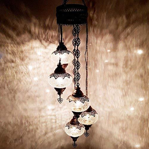 Turkish Marokkanische Handgefertigt Tiffany Stil Hängenden Glas Kronleuchter Lampen Licht - Ottomane Kronleuchter