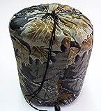Saco de Dormir de Capucha diseño Militar Camuflaje Woodland Campamento Acampada 2826b