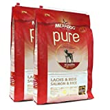 2 x 12,5 kg | Mera Dog | Pure Lachs & Reis
