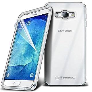 quality design 201ae fb295 i-Tronixs (Clear) Samsung Galaxy A8 Durable Survivor TPU Clear Gel ...