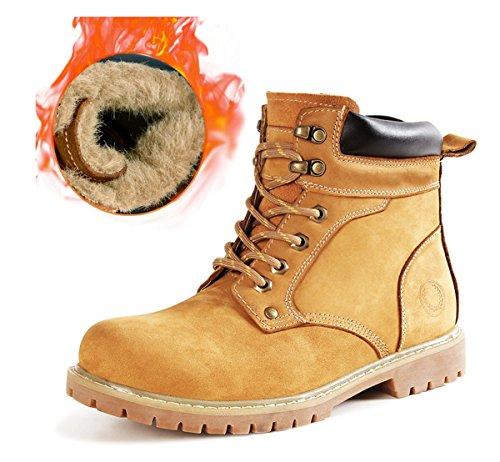 Preisvergleich Produktbild Minitoo ,  Herren Biker Boots ,  braun - Fur-Lined / Brown - Größe: 41.5